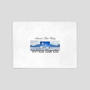 ABH White Sands 5'x7'Area Rug