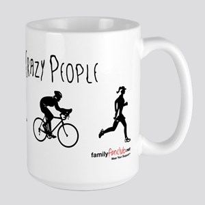 I see crazy people Mugs