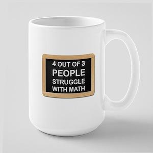 Math Struggles Mugs