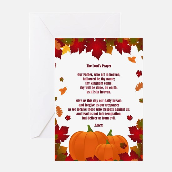 THE LORD'S PRAYER Greeting Cards
