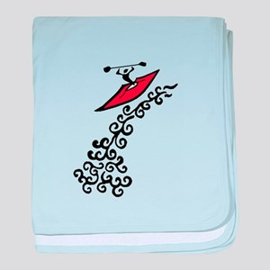 KAYAK baby blanket