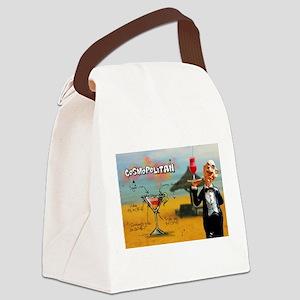 Cosmopolitan (Beach) Canvas Lunch Bag