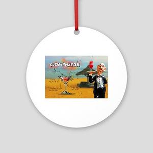 Cosmopolitan (Beach) Round Ornament