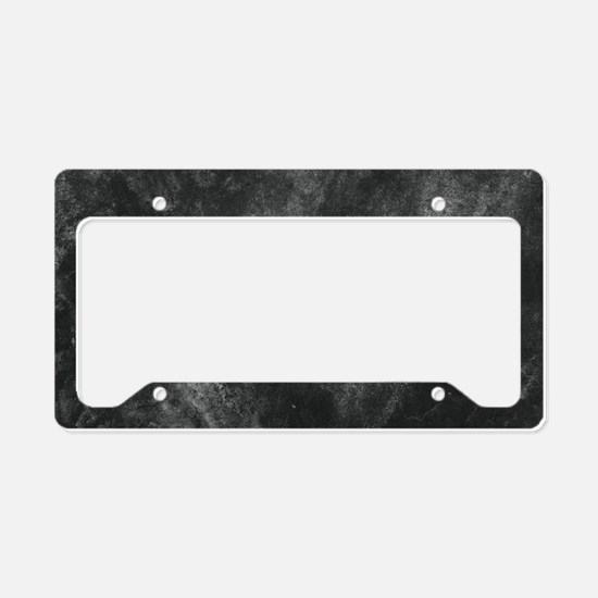 Unique Architecture License Plate Holder