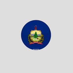 Vermont State Flag Mini Button