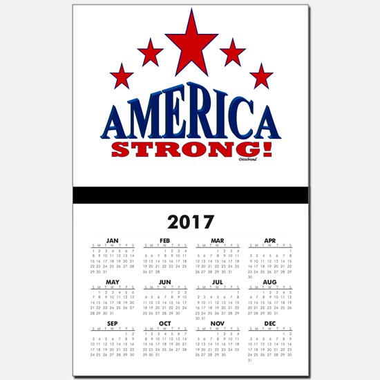 America Strong! Calendar Print