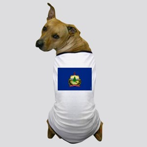 Vermont State Flag Dog T-Shirt
