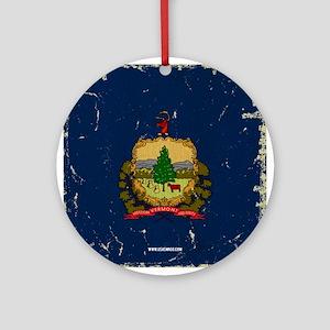 VT Vintage Ornament (Round)