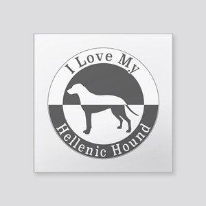 Hellenic Hound Sticker