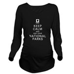 Keep Calm Long Sleeve Maternity T-Shirt