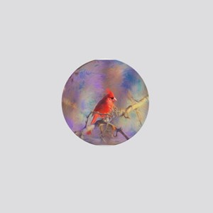 Lovely Cardinal Mini Button