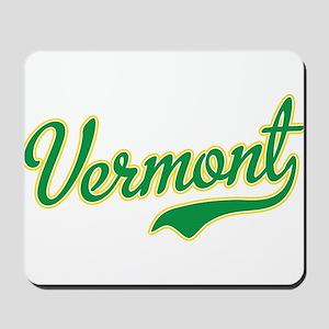 Vermont Script Font Mousepad