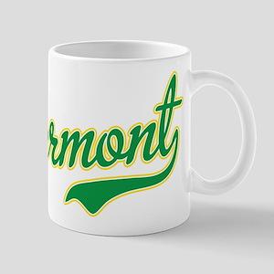 Vermont Script Font Mugs