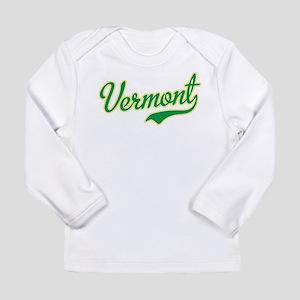 Vermont Script Font Long Sleeve T-Shirt