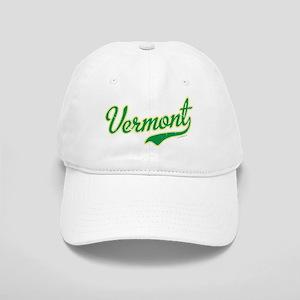 Vermont Script Font Vintage Baseball Cap