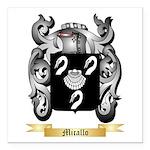 Micallo Square Car Magnet 3