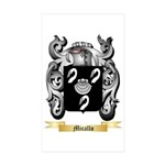Micallo Sticker (Rectangle 50 pk)