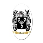 Micallo 20x12 Oval Wall Decal