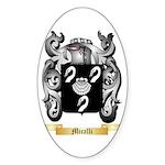 Micalli Sticker (Oval 50 pk)