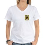 Micallef Women's V-Neck T-Shirt