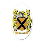 Micallef Oval Car Magnet