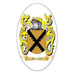 Micallef Sticker (Oval 50 pk)