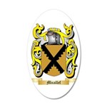 Micallef 35x21 Oval Wall Decal