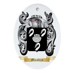Micalizzi Oval Ornament