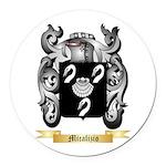 Micalizio Round Car Magnet