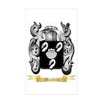 Micalizio Sticker (Rectangle 50 pk)