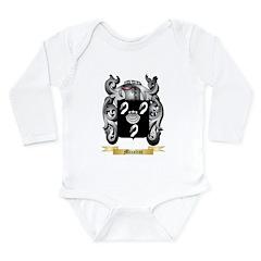 Micalini Long Sleeve Infant Bodysuit