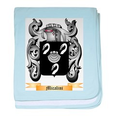 Micalini baby blanket
