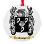 Micalini Round Ornament