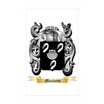 Micaletto Sticker (Rectangle 50 pk)