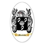 Micaletto Sticker (Oval 50 pk)