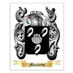 Micaletto Small Poster