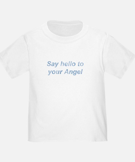 Say Hello Blue Wing T