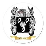 Micaletti Round Car Magnet