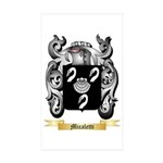 Micaletti Sticker (Rectangle 10 pk)