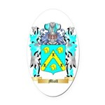 Miall Oval Car Magnet