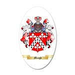Miagh 35x21 Oval Wall Decal