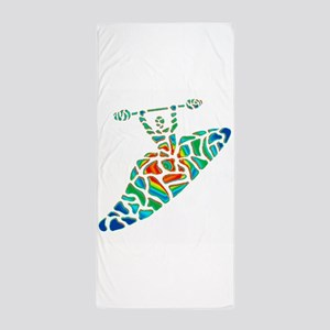 KAYAK Beach Towel