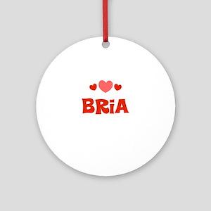 Bria Ornament (Round)
