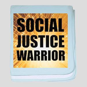 Social Justice Warrior baby blanket