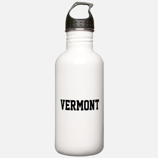 Vermont Jersey Black Water Bottle