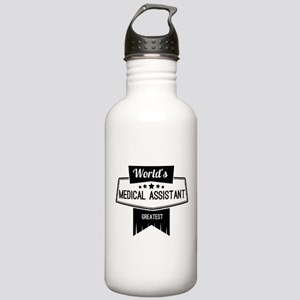 World's Best Medical A Stainless Water Bottle 1.0L