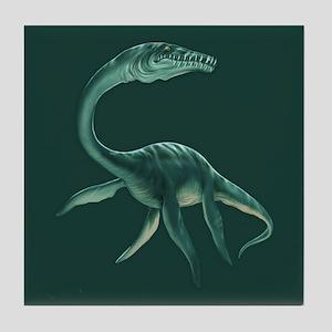 Plesiosaurus Tile Coaster