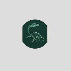 Plesiosaurus Dinosaur Mini Button