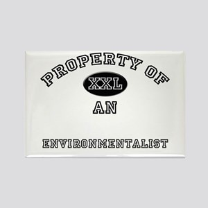 Property of an Environmentalist Rectangle Magnet