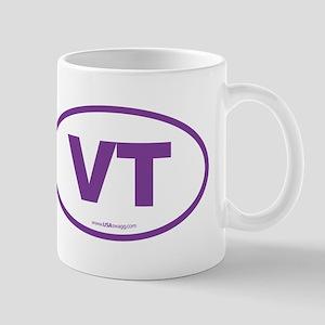 Vermont VT Euro Oval PURPLE Mug